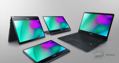 360도 회전하는 2-in-1 노트북, 삼성전자 '노트북 9 스핀' 출시